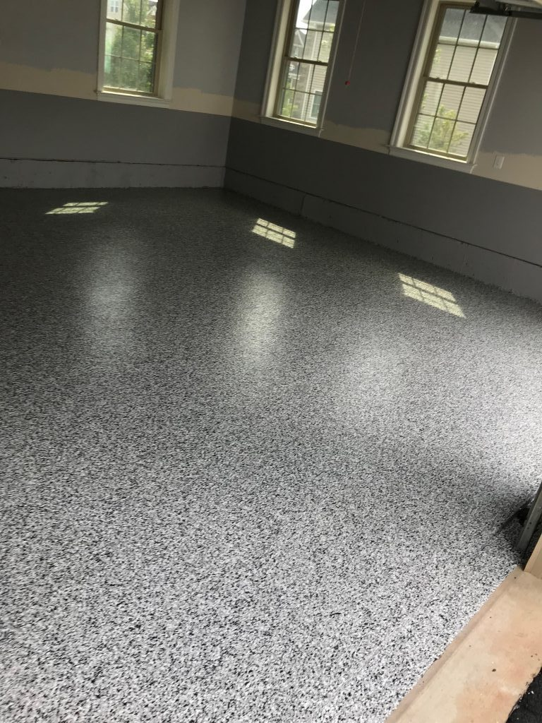 residential epoxy garage floor coating in ashburn va